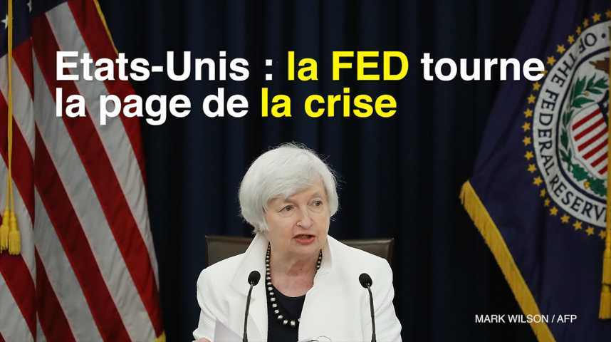 Illustration pour la vidéo Etats-Unis : la FED tourne la page de la crise