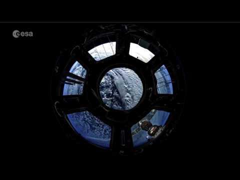 Deux minutes de survol de la Terre depuis l'ISS