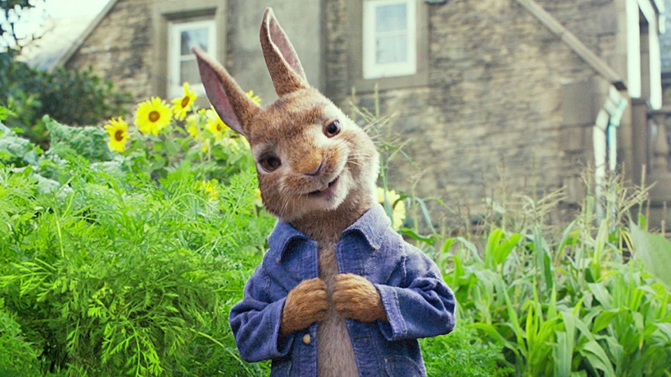 Pierre Lapin - bande annonce - VF - (2018)