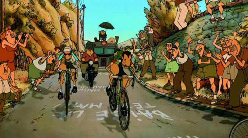 Les Triplettes de Belleville - Bande annonce 1 - VF - (2002)