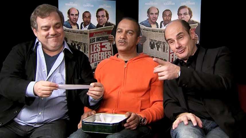 Les Trois frères, le retour - bande annonce - (2014)