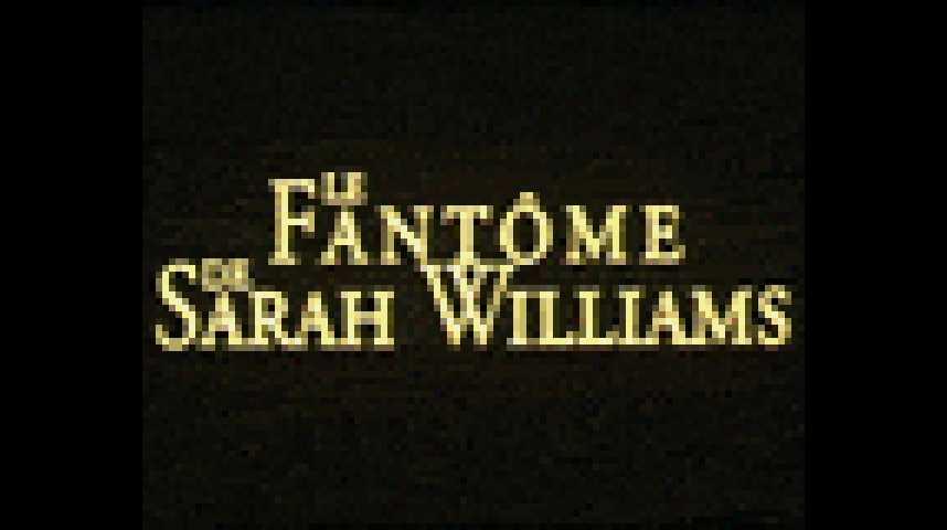 Le Fantôme de Sarah Williams - bande annonce - VF - (2001)