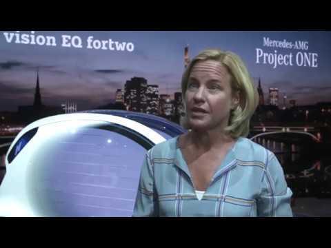 Mercedes-Benz at IAA 2017 - Interview Britta Seeger