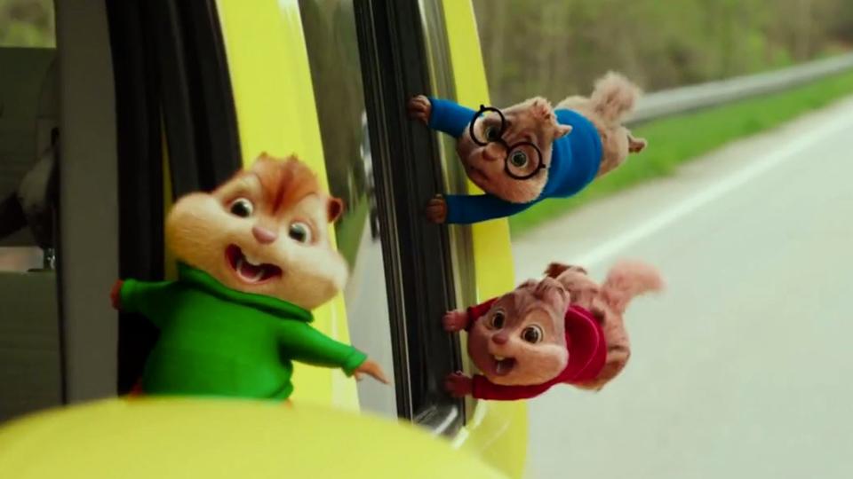 Alvin et les Chipmunks - A fond la caisse - bande annonce 4 - VF - (2016)