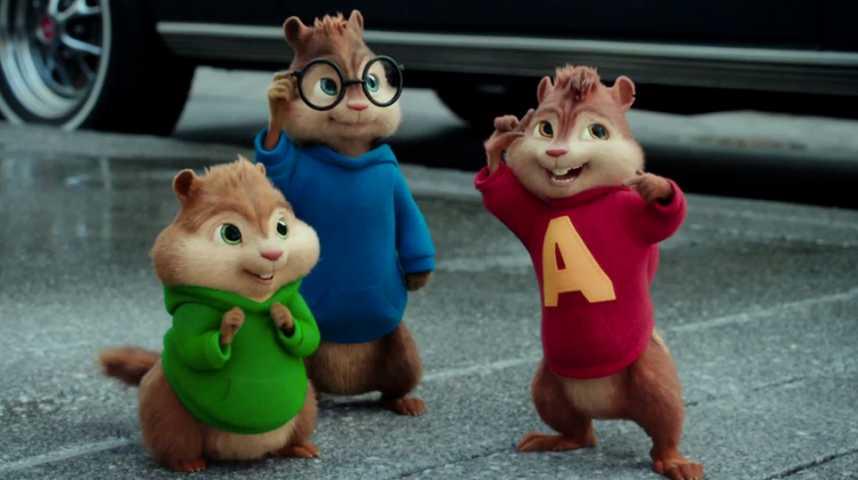 Alvin et les Chipmunks - A fond la caisse - Bande annonce 1 - VF - (2015)