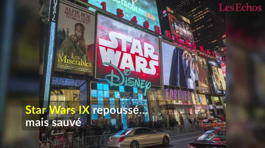 Illustration pour la vidéo Star Wars IX repoussé… mais sauvé