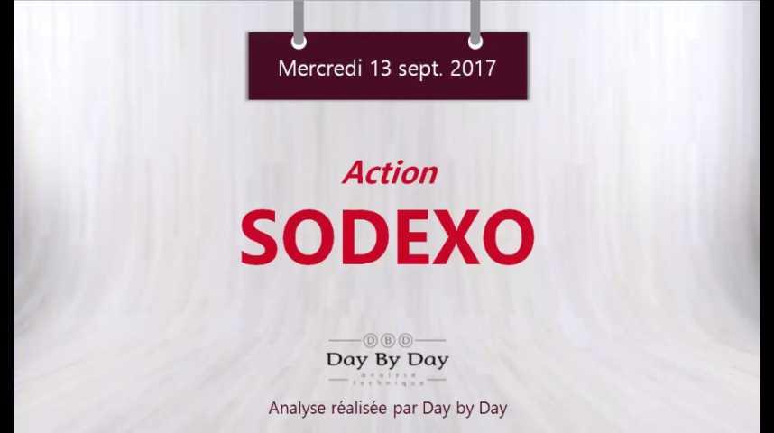 Illustration pour la vidéo Action Sodexo : la configuration graphique reste dégradée - Flash analyse IG 13.09.2017