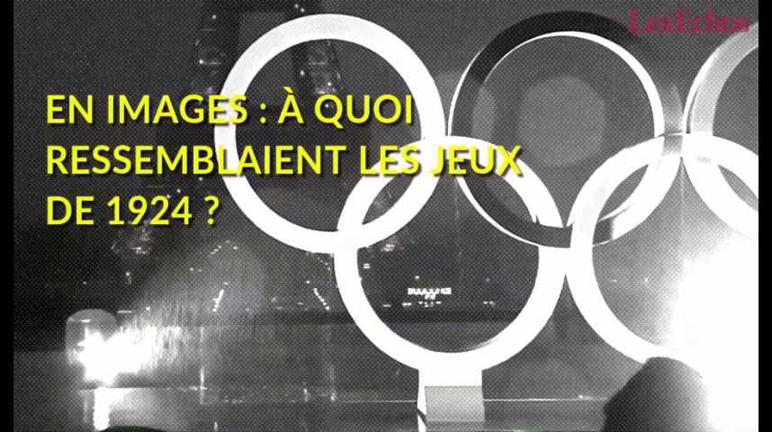 Illustration pour la vidéo En images : à quoi ressemblaient les Jeux de 1924 à Paris ?
