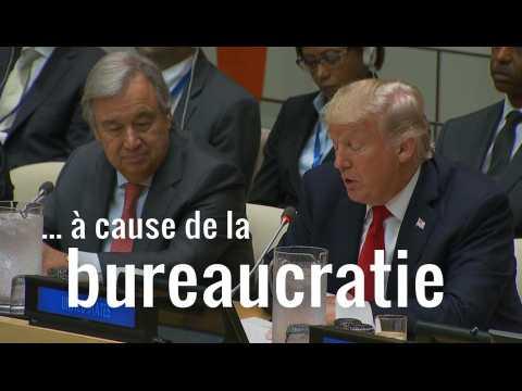 À peine arrivé à New York, Trump tacle l'ONU