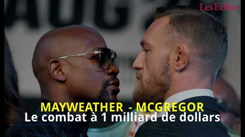 Illustration pour la vidéo Mayweather-McGregor, le combat à un milliard de dollars