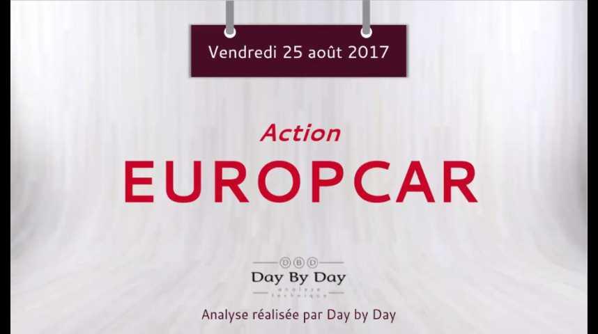 Illustration pour la vidéo Action Europcar - la baisse se poursuit - Flash analyse IG 25.08.2017