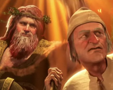 Le Drôle de Noël de Scrooge - teaser - VF - (2009)