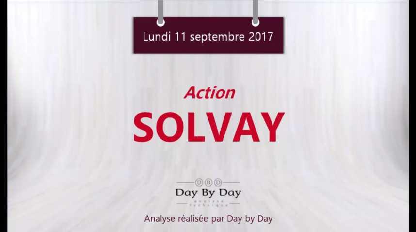 Illustration pour la vidéo Action Solvay - sortie de triangle - Flash analyse IG 11.09.2017