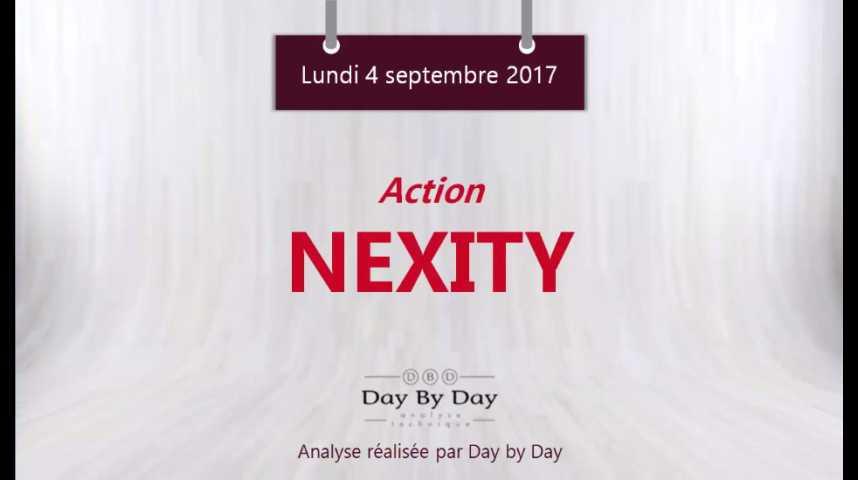 Illustration pour la vidéo Action Nexity : la tendance reste negative sous les 47,60 - Flash analyse IG 04.09.2017