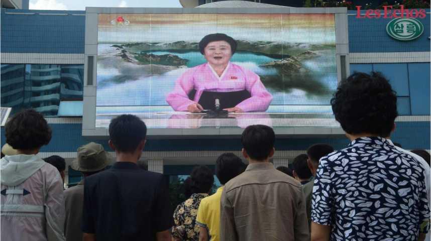 Illustration pour la vidéo Corée du Nord : Washington prêt à utiliser l'arme nucléaire