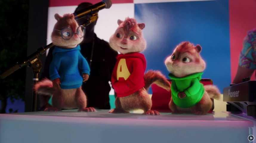 Alvin et les Chipmunks - A fond la caisse - Bande annonce 10 - VF - (2015)