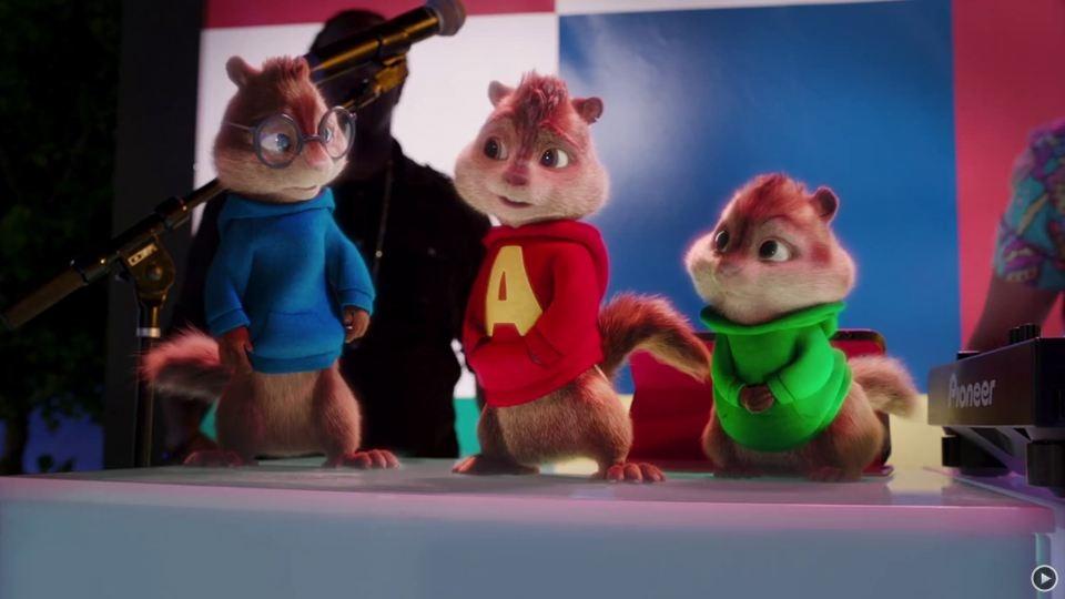 Alvin et les Chipmunks - A fond la caisse - bande annonce 2 - VF - (2016)