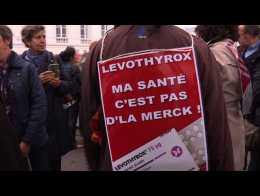 Levothyrox: rassemblement contre la nouvelle formule