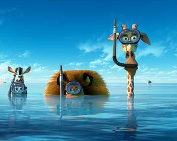Madagascar 3, Bons Baisers D'Europe - teaser 2 - VOST - (2012)