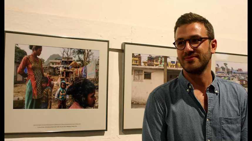 """Illustration pour la vidéo Visa pour l'Image, rencontre avec Stephen Dock """"La traite des êtres humain, le fardeau du Népal """""""