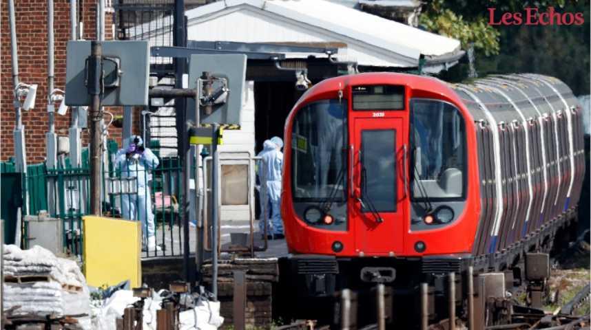 Illustration pour la vidéo Explosion dans le métro à Londres : la police évoque un « acte terroriste »