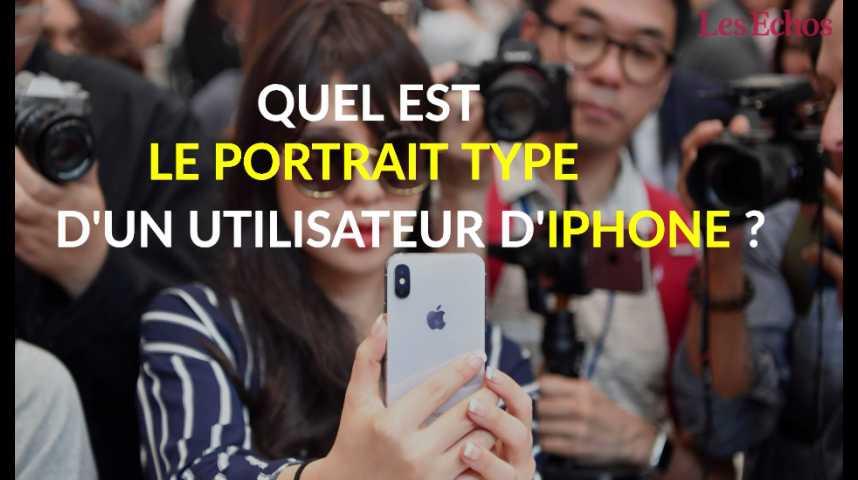 Illustration pour la vidéo Quel est le profil type d'un utilisateur d'iPhone ?