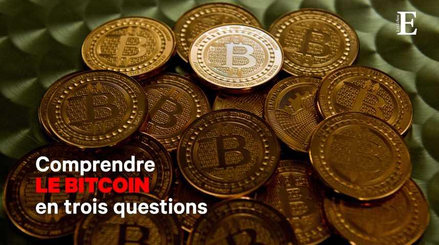 Illustration pour la vidéo Comprendre le bitcoin en 3 questions