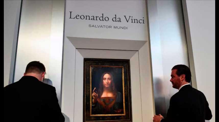Illustration pour la vidéo Leonard de Vinci bat tous les records à New York