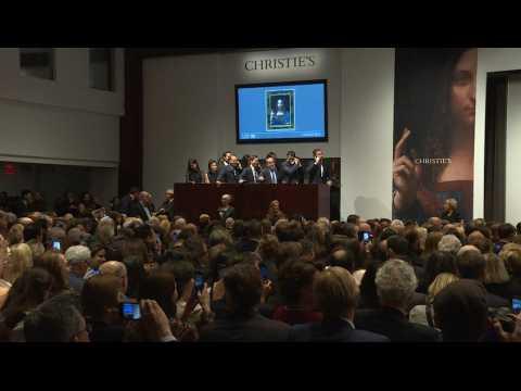 Un tableau de Vinci devient le plus cher du monde à 450 millions de dollars