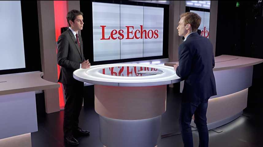 """Illustration pour la vidéo Universités : « Les instrumentalisations politiques de la """"France insoumise"""" ne marcheront pas », selon Gabriel Attal (LREM)"""
