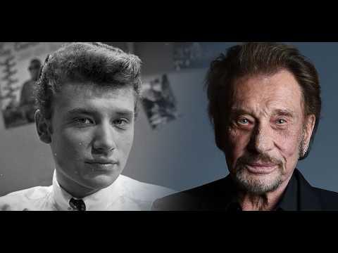 Johnny Hallyday : l'évolution de l'idole des jeunes en une minute