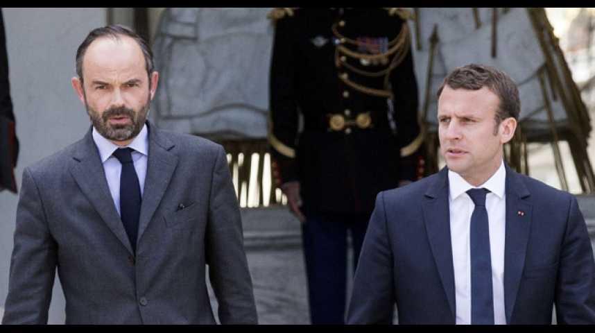 Illustration pour la vidéo Sondage / popularité : l'hostilité envers Macron et Philippe recule