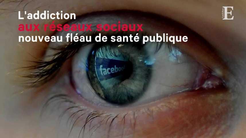 Illustration pour la vidéo L'addiction aux réseaux sociaux, nouveau fléau de santé publique