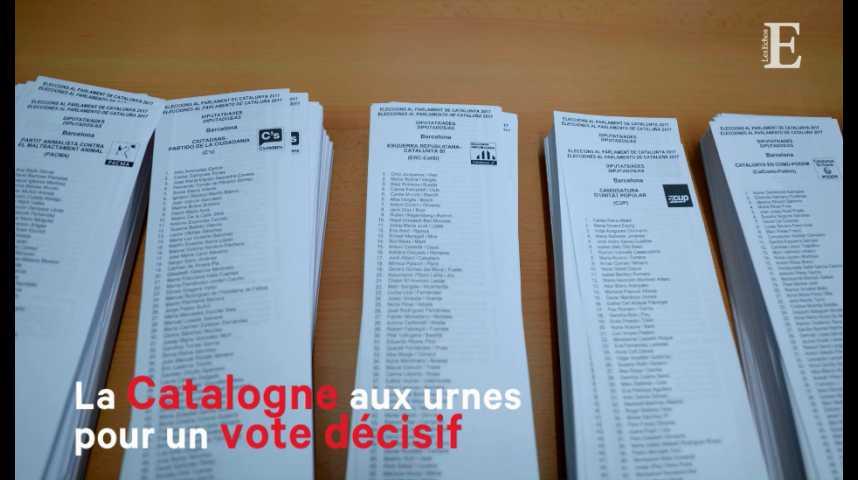 Illustration pour la vidéo La Catalogne aux urnes : retour sur une épopée en 6 dates-clés