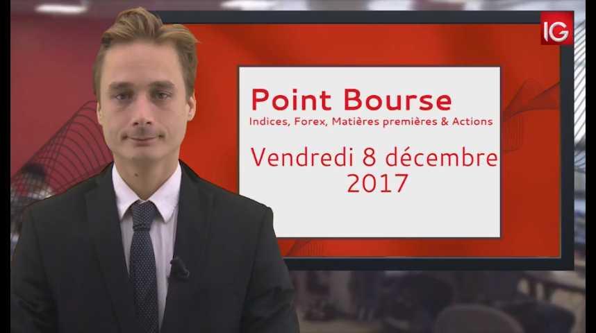 Illustration pour la vidéo Point Bourse IG du 08.11.2017