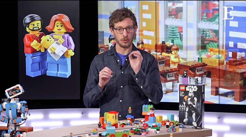 Illustration pour la vidéo L'incroyable aventure Lego