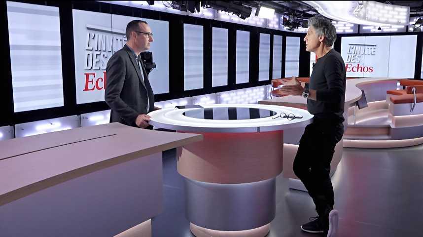 Illustration pour la vidéo «L'idée c'est de proposer des lunettes de qualité fabriquées en France» (Marc Simoncini)