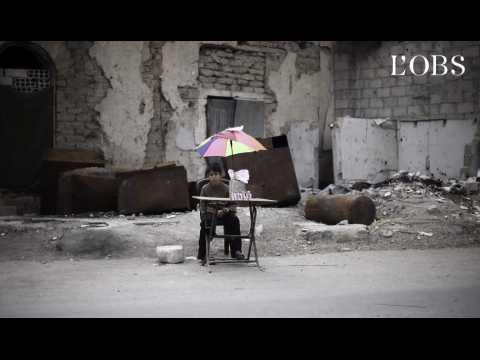 Syrie : des survivants de la guerre devenus journalistes documentent leur quotidien