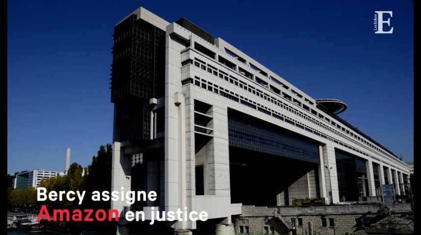 Illustration pour la vidéo Bercy assigne Amazon en justice