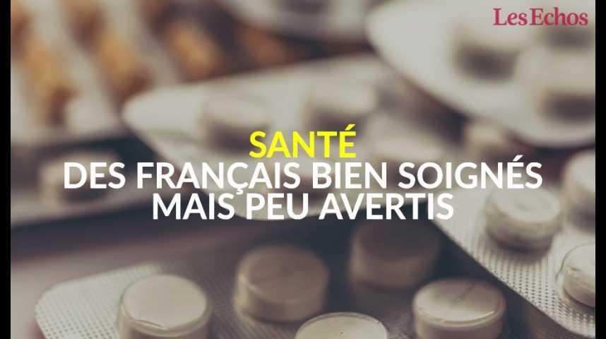 Illustration pour la vidéo Santé : des Français bien soignés mais peu avertis