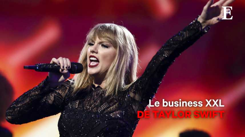 Illustration pour la vidéo Le business XXL de Taylor Swift