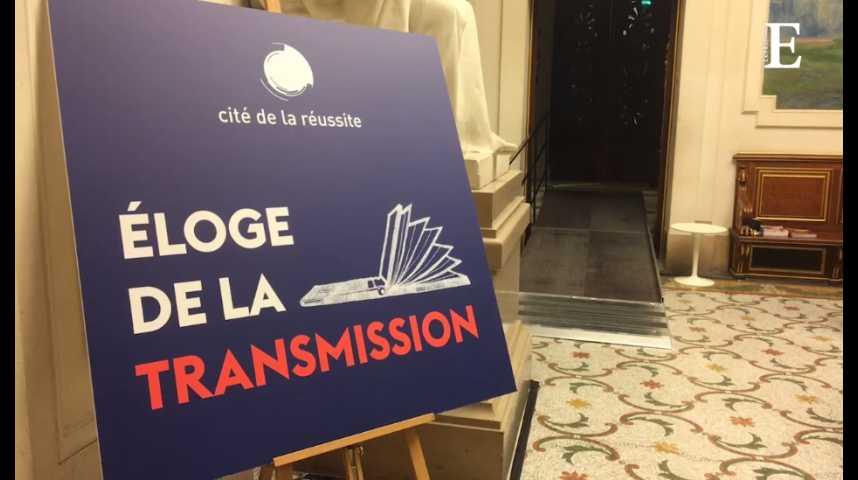 Illustration pour la vidéo Cité de la réussite : 150 personnalités planchent sur le thème de la « transmission »
