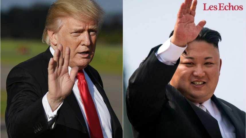 Illustration pour la vidéo Trump replace la Corée du Nord sur la liste noire des pays soutenant le terrorisme