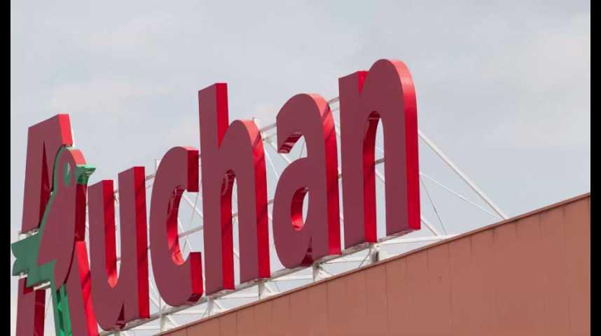 Illustration pour la vidéo Auchan s'allie au géant Alibaba en Chine