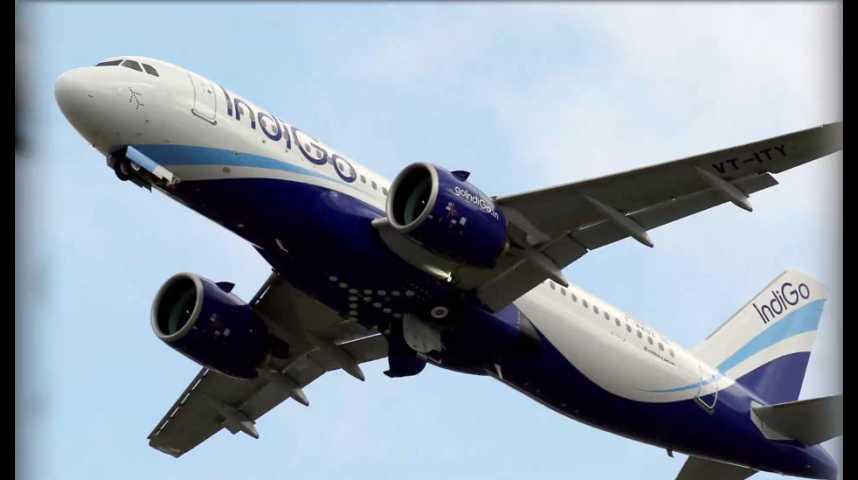 Illustration pour la vidéo Indigo passe une commande historique à Airbus
