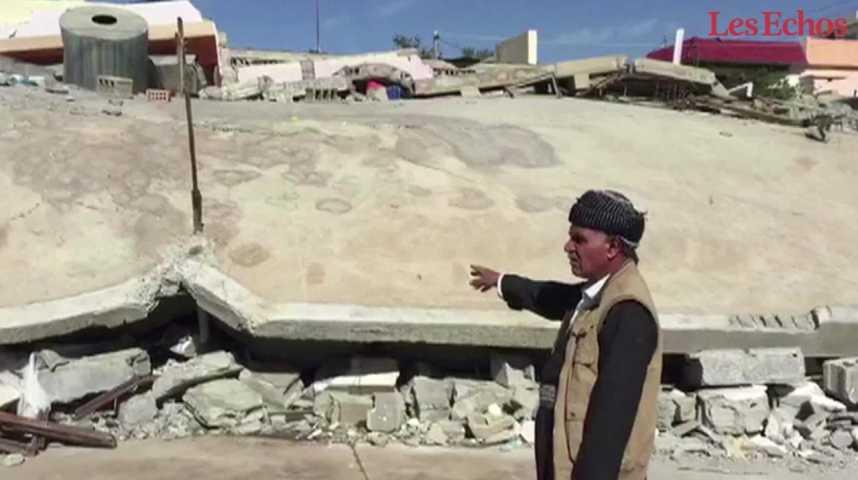 Illustration pour la vidéo Un séisme meurtrier frappe l'Iran et l'Irak