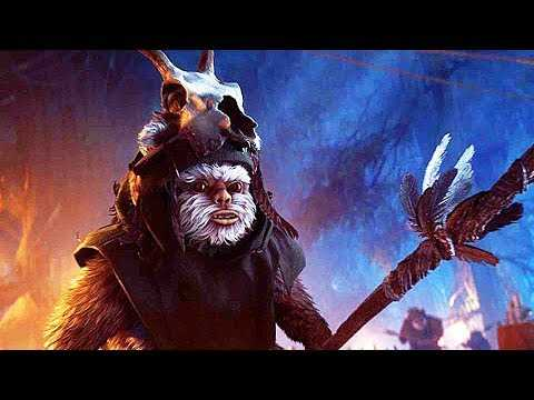 STAR WARS BATTLEFRONT 2 Night On Endor Trailer TEASER (Ewoks, 2018) PS4 / Xbox One / PC