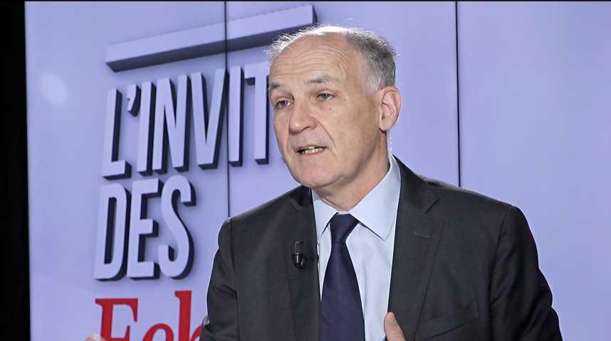 Illustration pour la vidéo Pierre-André de Chalendar : « Saint-Gobain réfléchit à augmenter ses investissements aux Etats-Unis »