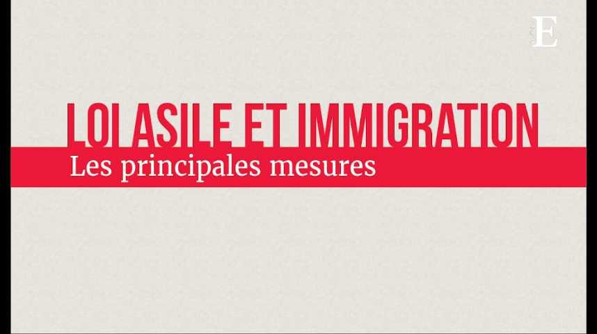 Illustration pour la vidéo Loi asile et immigration : les principales mesures