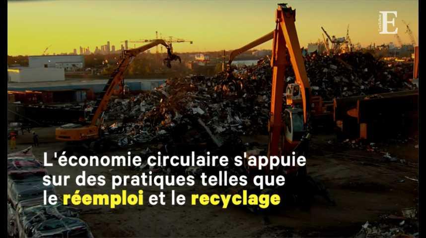 Illustration pour la vidéo Recyclage, réparation, consigne... Les projets du gouvernement pour l'économie circulaire